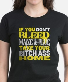 Cool Maize and blue Tee