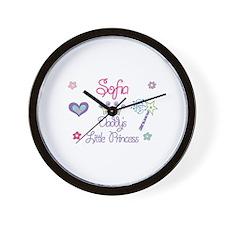 Sofia - Daddy's Little Prince Wall Clock
