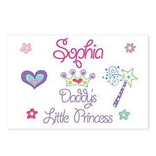 Sophia - Daddy's Little Princ Postcards (Package o