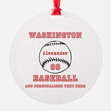 Baseball Personalized Ornament