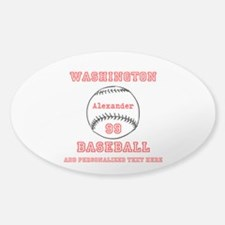Baseball Personalized Decal