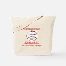 Baseball Personalized Tote Bag