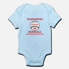 Baseball Personalized Body Suit