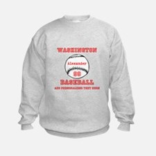 Baseball Personalized Sweatshirt