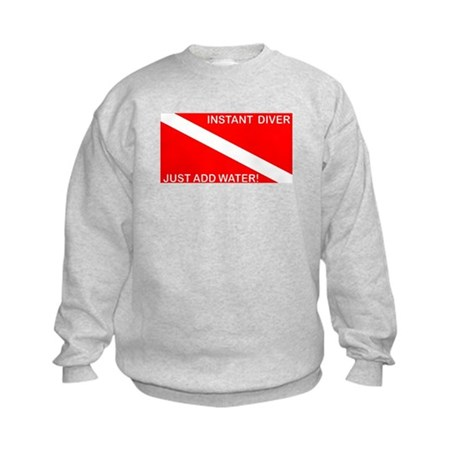 Instant Diver Kids Sweatshirt
