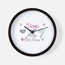 Victoria - Daddy's Little Pri Wall Clock