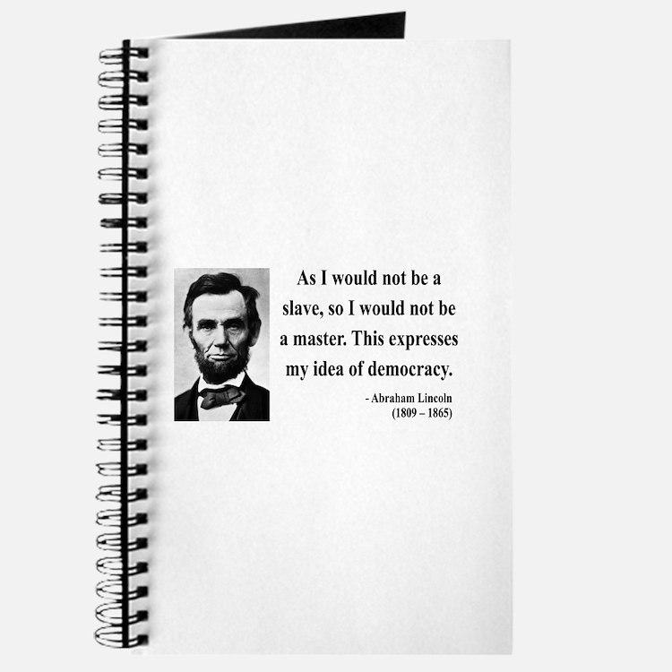Abraham Lincoln 23 Journal