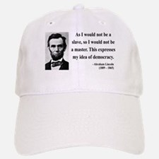 Abraham Lincoln 23 Baseball Baseball Cap