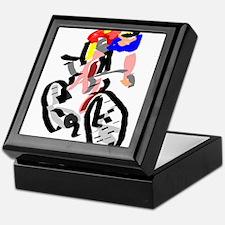 Cyclist Keepsake Box