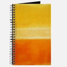 Orange & Shades of Yellow Rothko Journal