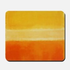 Orange & Shades of Yellow Rothko Mousepad