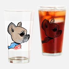 Chihuahua Power Drinking Glass