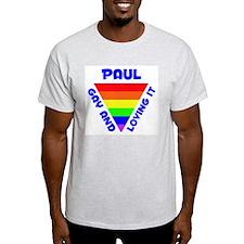 Paul Gay Pride (#005) T-Shirt