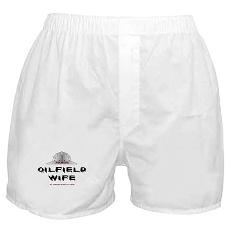 Proud Oilfield Wife Boxer Shorts