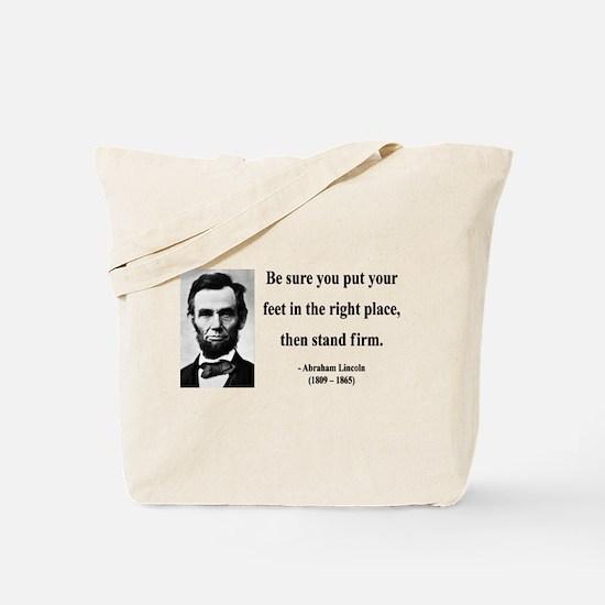 Abraham Lincoln 24 Tote Bag