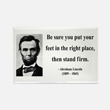 Abraham Lincoln 24 Rectangle Magnet