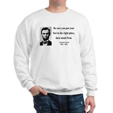 Abraham Lincoln 24 Sweatshirt