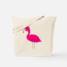 Cartoon Pink Flamingo Tote Bag