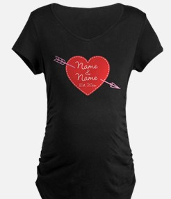 Heart Names Personalized T-Shirt