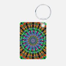 Peacock Mandala Keychains