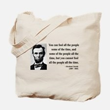 Abraham Lincoln 25 Tote Bag