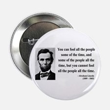 "Abraham Lincoln 25 2.25"" Button"