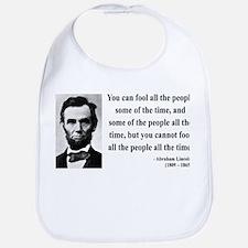 Abraham Lincoln 25 Bib