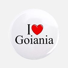 """I Love Goiania"" 3.5"" Button"