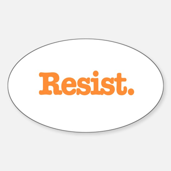 Resist 4 Decal