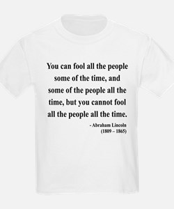 Abraham Lincoln 25 T-Shirt