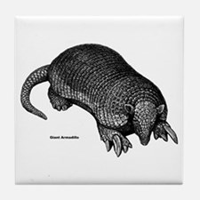 Giant Armadillo Tile Coaster