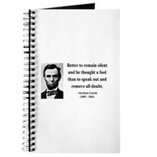Abraham Lincoln 26 Journal