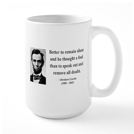 Abraham Lincoln 26 Large Mug
