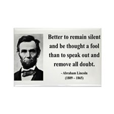 Abraham Lincoln 26 Rectangle Magnet (10 pack)