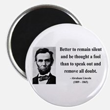 "Abraham Lincoln 26 2.25"" Magnet (10 pack)"