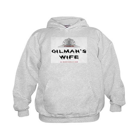 Proud Oilman's Wife Kids Hoodie