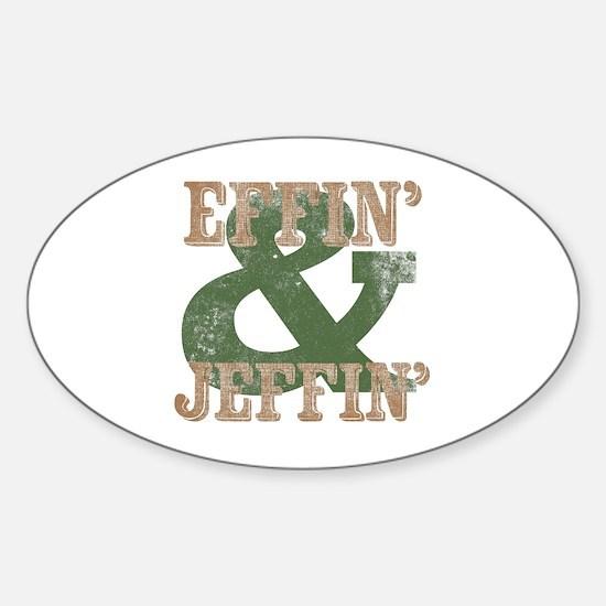 Unique Electricians vintage Sticker (Oval)