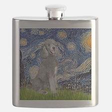 Cute Poodle Flask