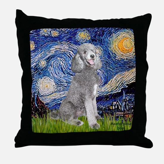 Cute Starry night Throw Pillow