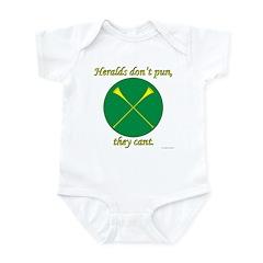 Heralds Cant Infant Bodysuit