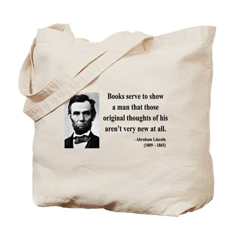 Abraham Lincoln 27 Tote Bag