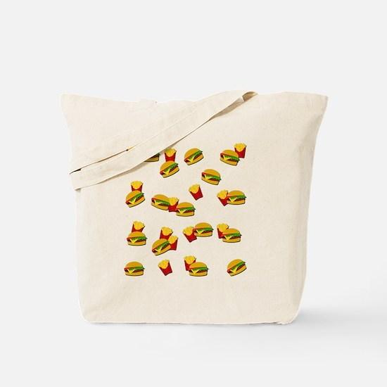 Cute Junk food Tote Bag