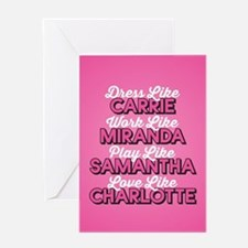 SATC Dress Like Greeting Card