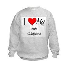 I Love My Irish Girlfriend Sweatshirt
