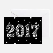 2017 In Skulls Greeting Cards