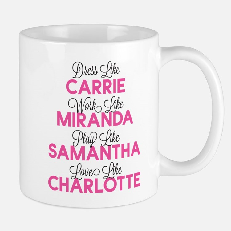 sex and the city sex and the city coffee mugs sex and the city travel mugs cafepress. Black Bedroom Furniture Sets. Home Design Ideas
