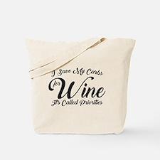 SATC Wine Pink Tote Bag
