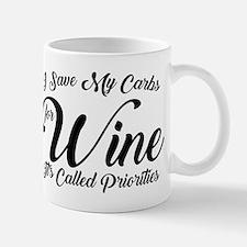 SATC Wine Pink Mug