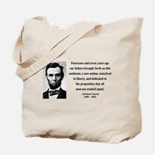 Abraham Lincoln 29 Tote Bag