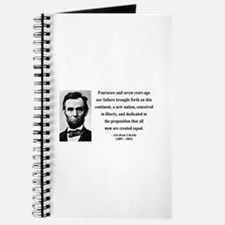 Abraham Lincoln 29 Journal